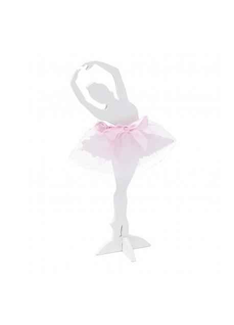 428de9191c Ballerina in legno con tulle