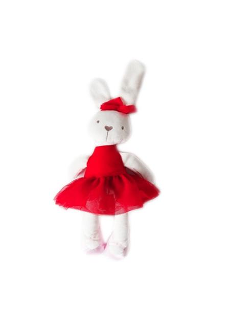 Coniglietto Peluche rosso